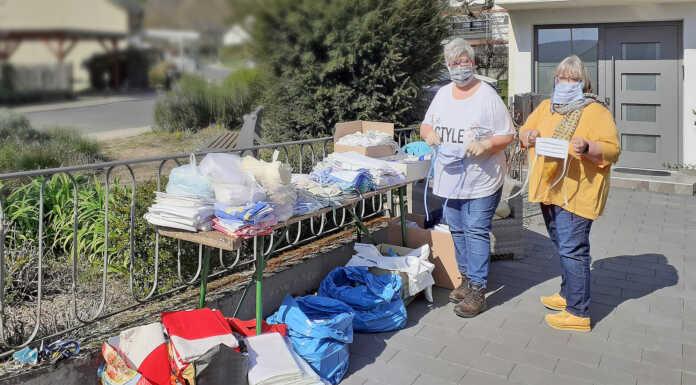 Hilfsprojekt für dringend benötigte Mundschutzmasken