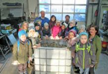 Kindergarten Pusteblume-Löwenzahn sammelt Kronkorken für krebskranke Kinder
