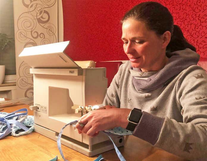 Behelfs-Mundmasken-Gruppe Sinzig Rhein-Ahr erfolgreich gestartet