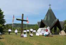 Bündnis für Frieden und Demokratie veranstaltete Gedenken zum 8. Mai 1945