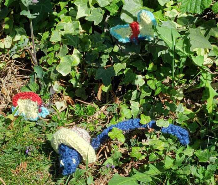 Häkeln für die Artenvielfalt – die BUND Kreisgruppe Ahrweiler ist dabei