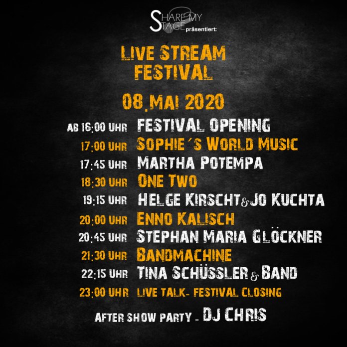 SHARE MY STAGE - LIVE STREAM FESTIVAL