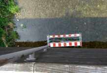Verkehrszeichen in der Ahr