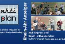Doppelkonzert in der Kulturwerkstatt Remagen rockte - der Film