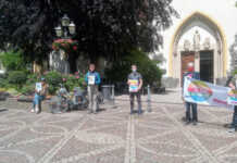 Silent Protest- Spontankundgebung gegen Rassismus