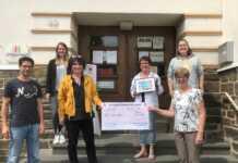 """Theatergruppe Westum spendete für """"Jugend hilft"""""""