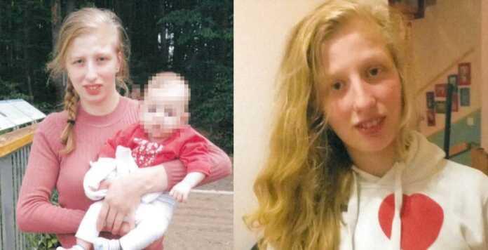Vermisstenfahndung: 18-jährige Frau mit einjähriger Tochter vermisst - Polizei sucht nach Vanessa B.
