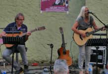 Anita und Wolf in der Kulturwerkstatt