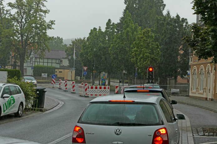 Verkehrseinschränkungen Kölner Straße / Landskroner Straße