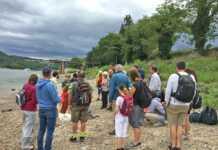 Geologische Wanderung stößt auf großes Interesse