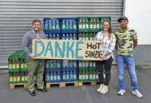 Kleines Jubiläum: Sinziger Mineralbrunnen unterstützt das HoT Sinzig seit 15 Jahren