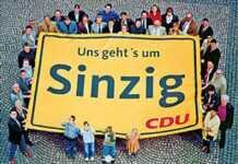 Stellungnahme der CDU Sinzig zur beabsichtigten Durchführung der Kirmes