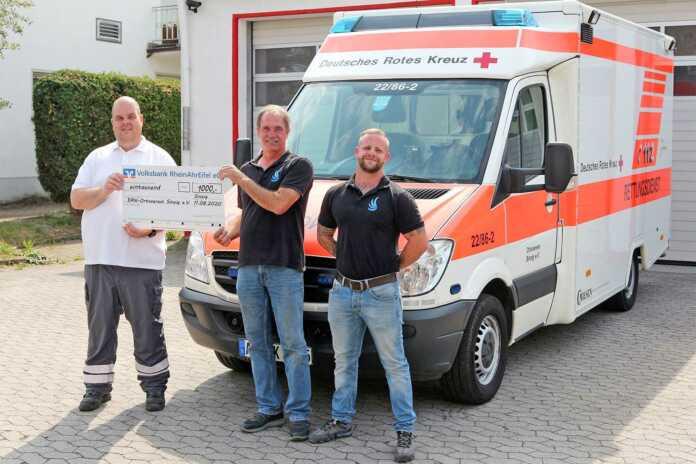 Glasreinigung Norbert Engel reiht sich in die Spenderliste ein