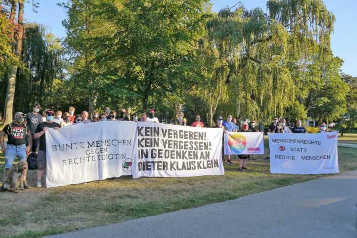 Breites Bündnis zur Gedenkkundgebung für Dieter Klaus Klein