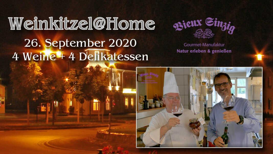 Weinkitzel@home