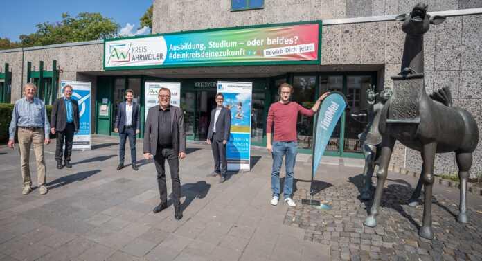 Erste digitale Ausbildungsmesse im Kreis Ahrweiler