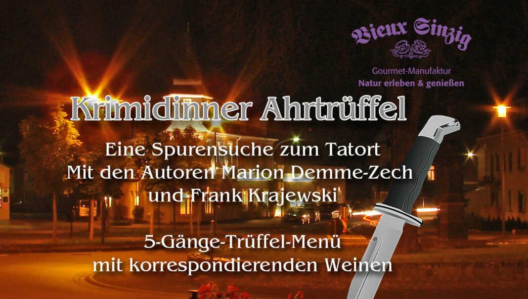 "Krimidinner ""Ahrtrüffel"" im Vieux Sinzig"