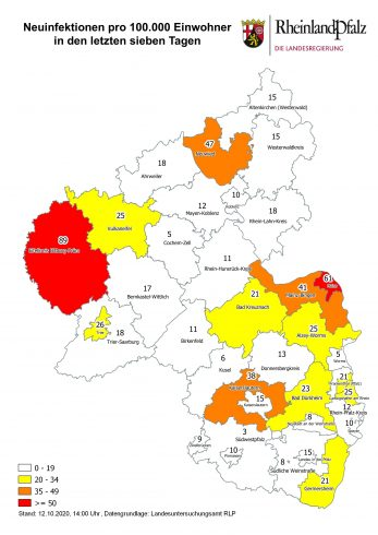 Corona Karte Ortenaukreis
