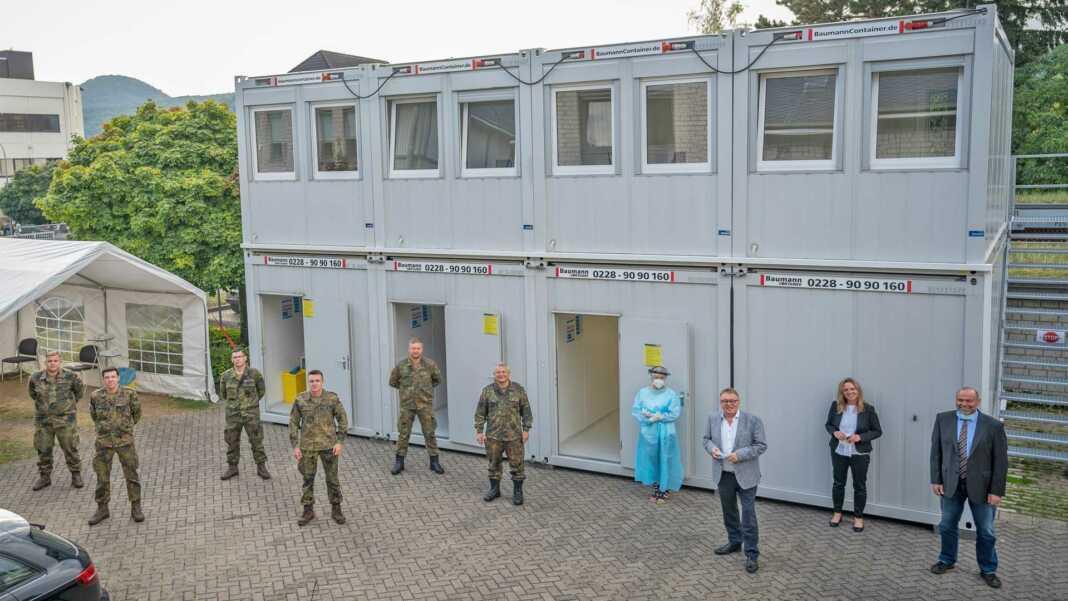 Bundeswehr unterstützt im Gesundheitsamt