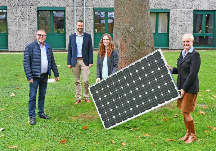 Solarzellen Kreisverwaltung
