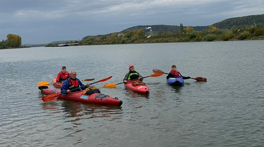 WSV Jugend in der Herbstferien aktiv