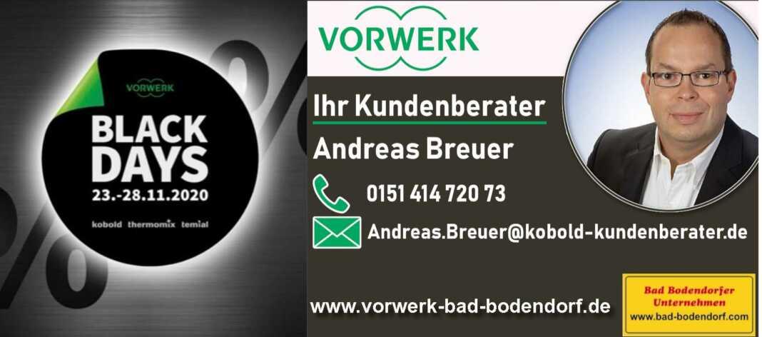 Black Days Angebote von Vorwerk bei Andreas Breuer