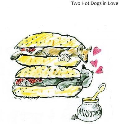 Karikaturen rund um den Hund als Bildband