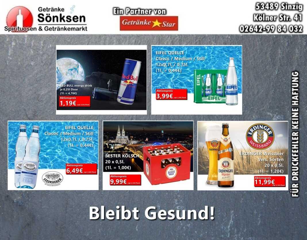 Getränke Sönksen Angebot vom 12.11. - 18.11.2020