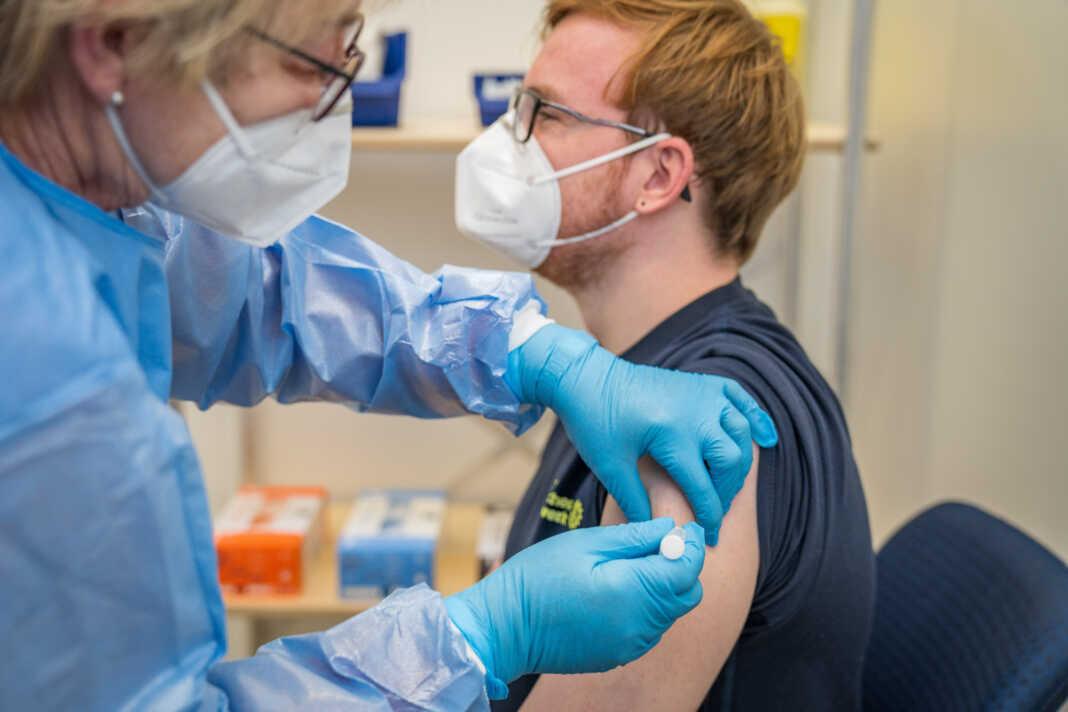 Landesimpfzentrum in Grafschaft-Gelsdorf bereitet sich vor