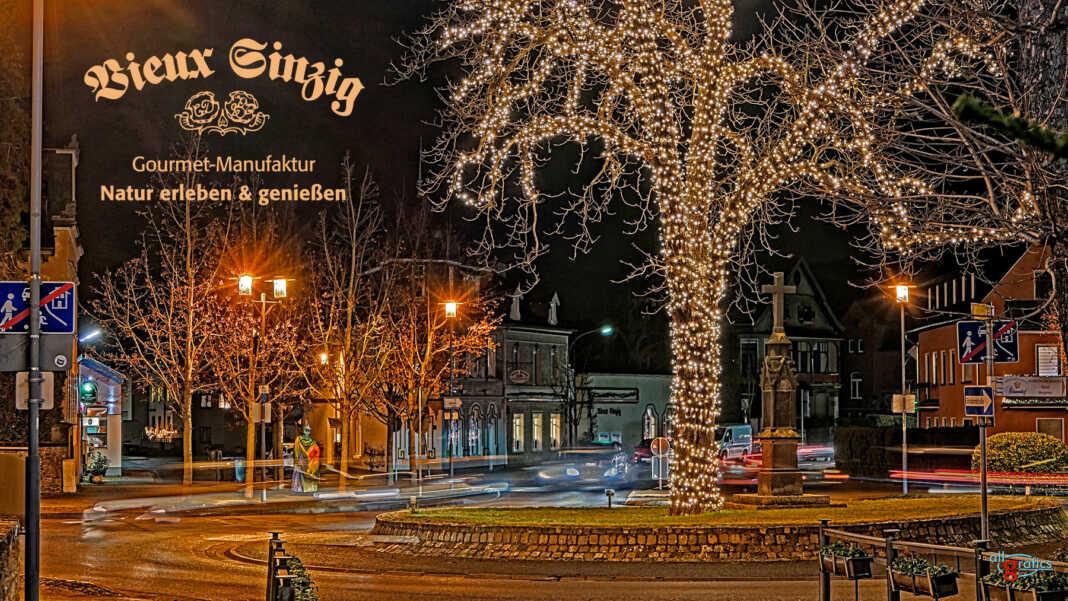 Wintermenue bei Vieux Sinzig