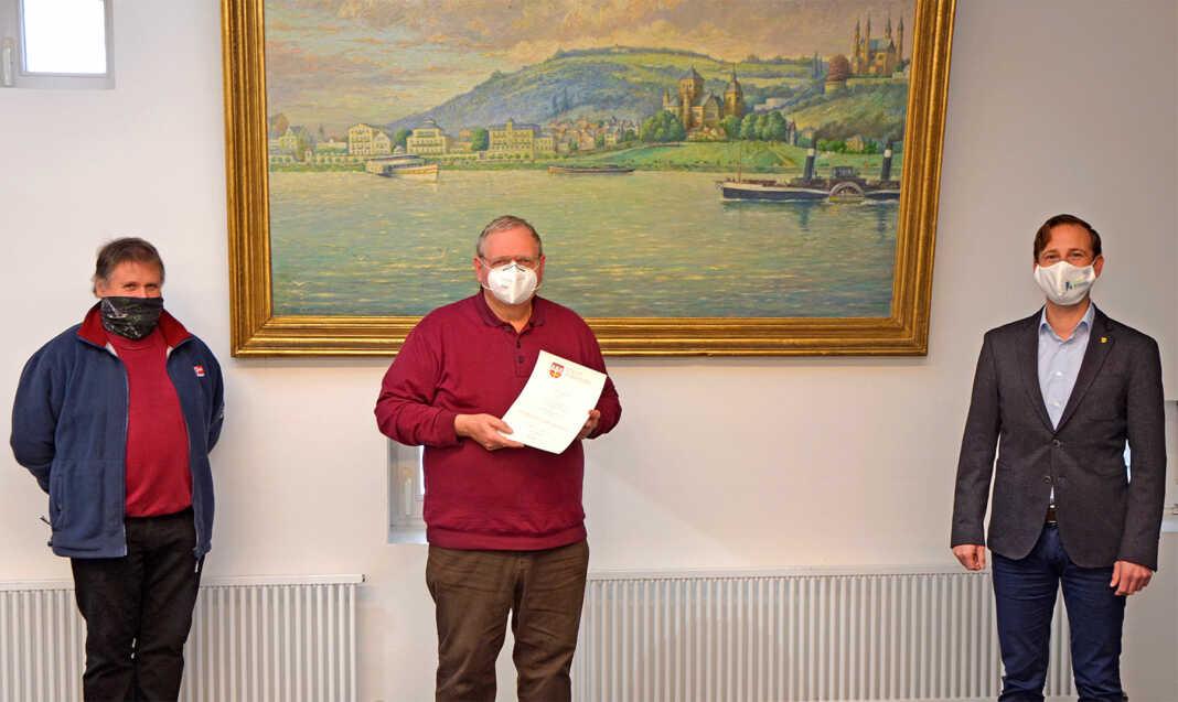 Kurt Kleemann feiert seinen Abschied bei der Stadtverwaltung Remagen