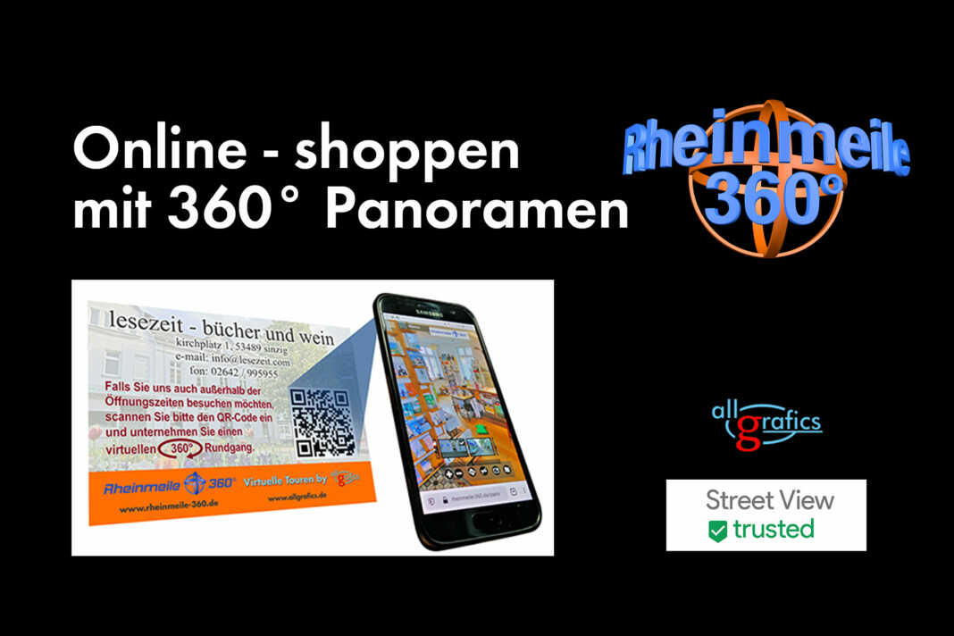 Virtuelles Shopping mit 360° Panoramen - der Film