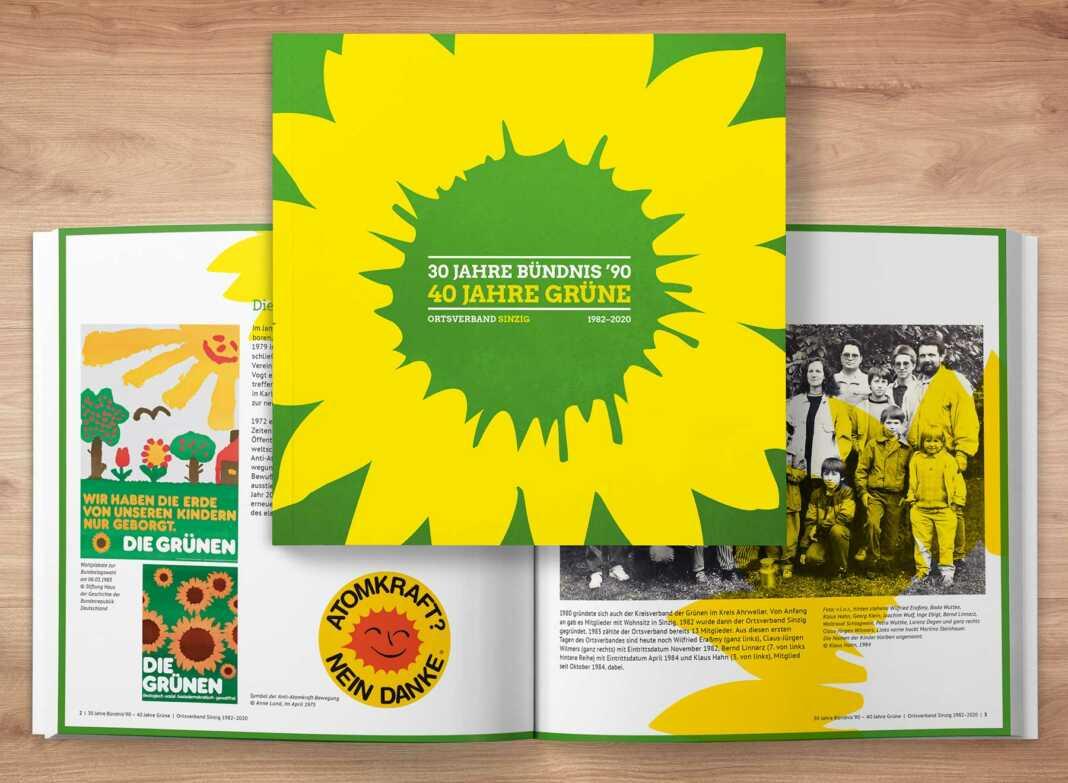 Jubiläumsschrift der Sinziger Grünen