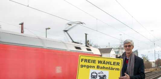 Landtagskandidat Reiner Friedsam fordert die Umsetzung der Maßnahmen zur Lärmreduzierung und mehr Sicherheit