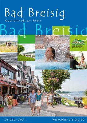 Das Gastgeberverzeichnis Bad Breisig für das Jahr 2021 ist da