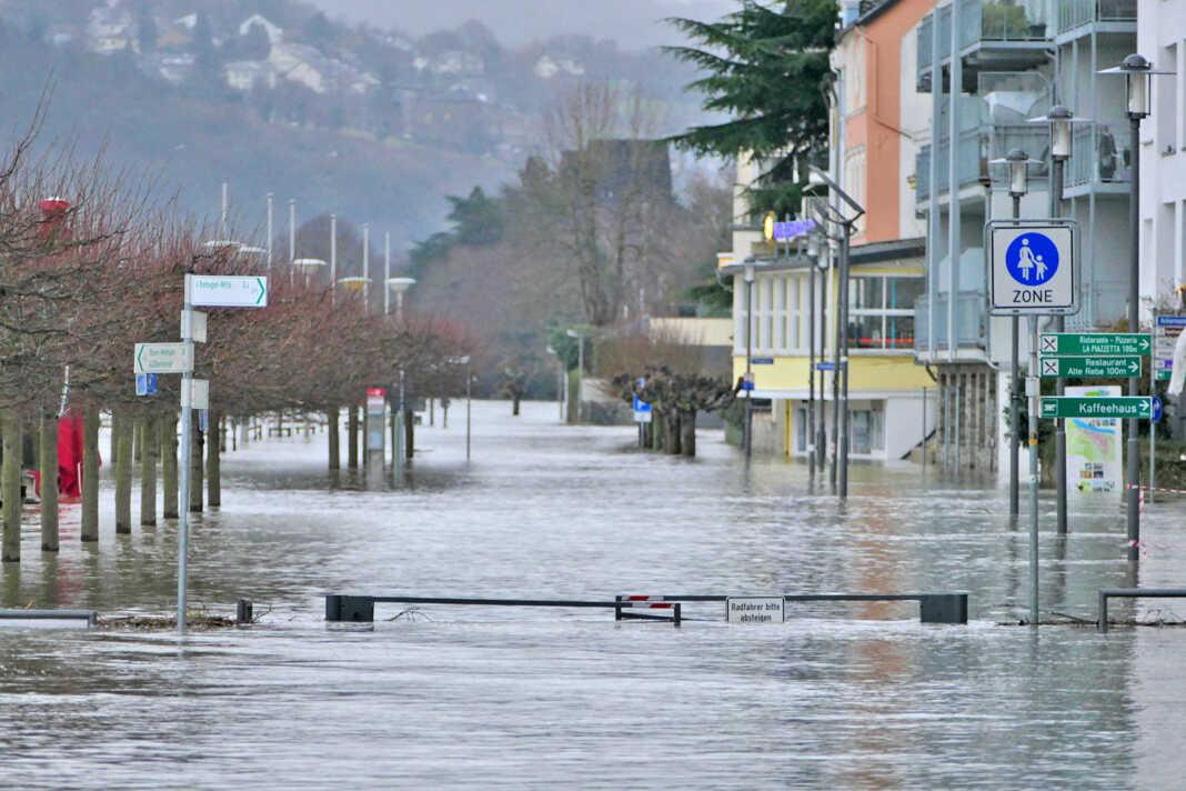 Hochwassersperrungen auch in Remagen und Kripp