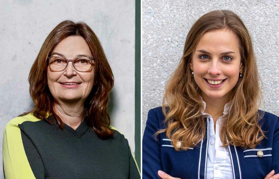 Mechthild Heil MdB (r.) und Wiebke Winter