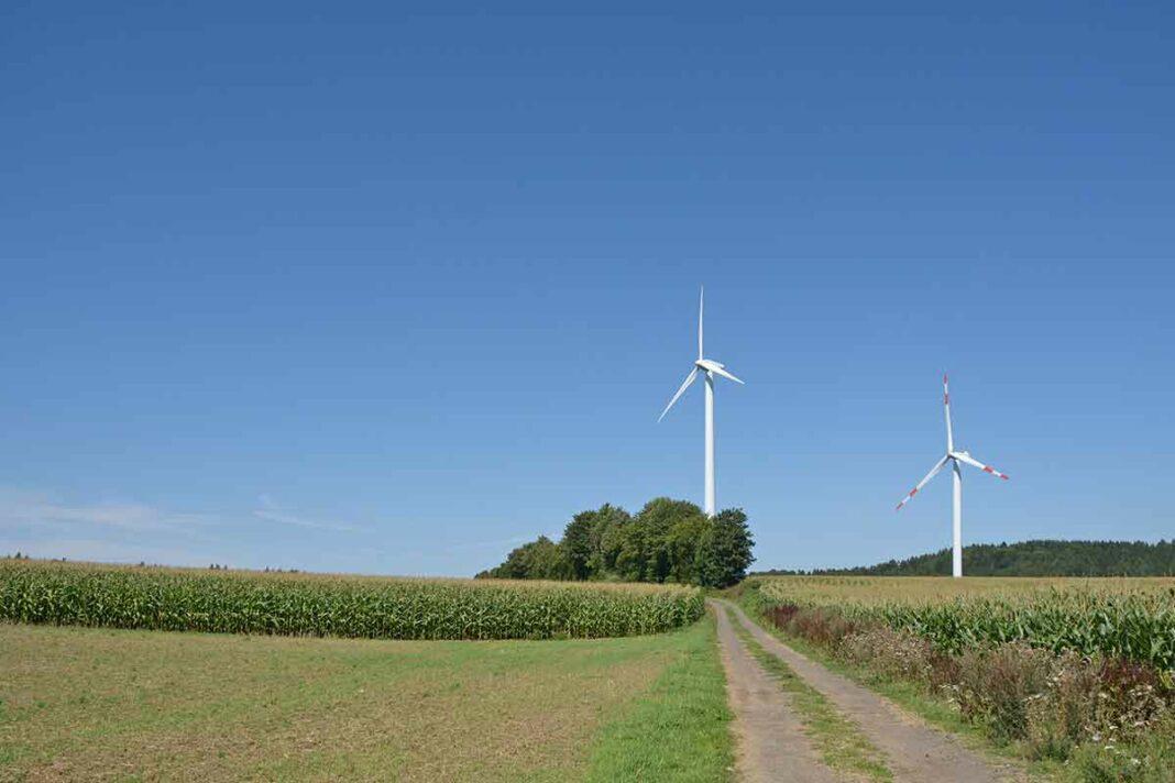 Windräder Rieden