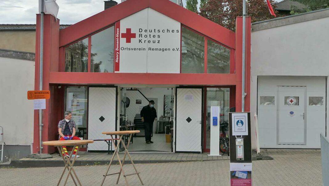 DRK Teststation Remagen