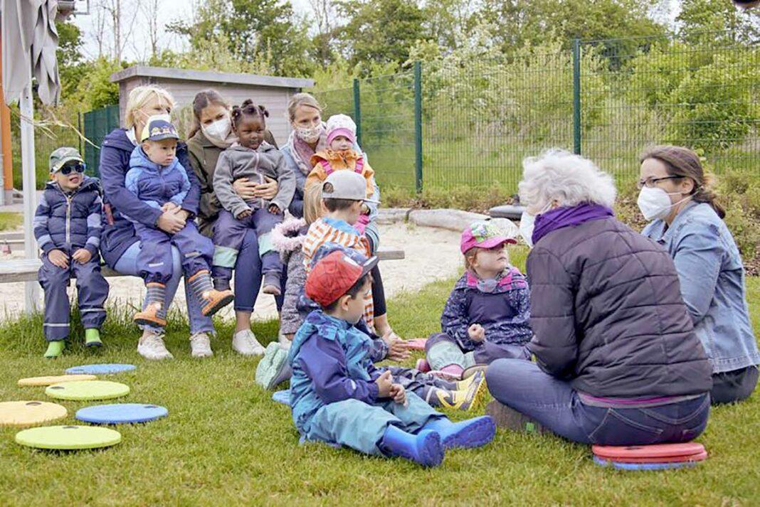Kinder in Oedingen