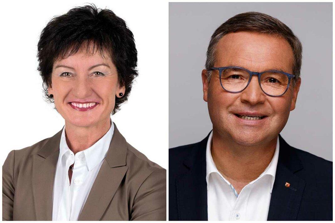 Petra Schneider, MdL, CDU und Horst Gies, MdL CDU