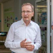 Schirmherr Bürgermeister Andreas Geron