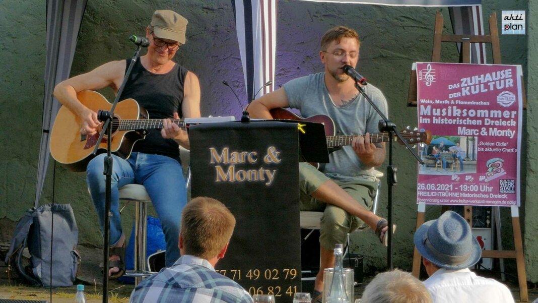 Marc und Monty