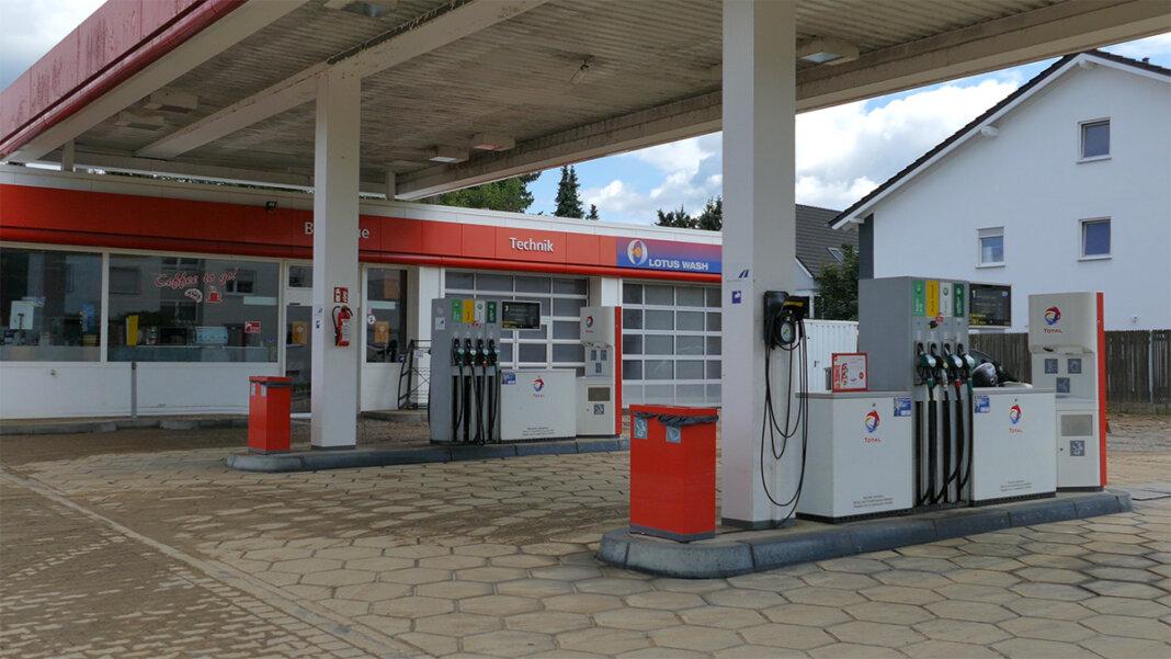 TOTAL Tankstelle in Sinzig