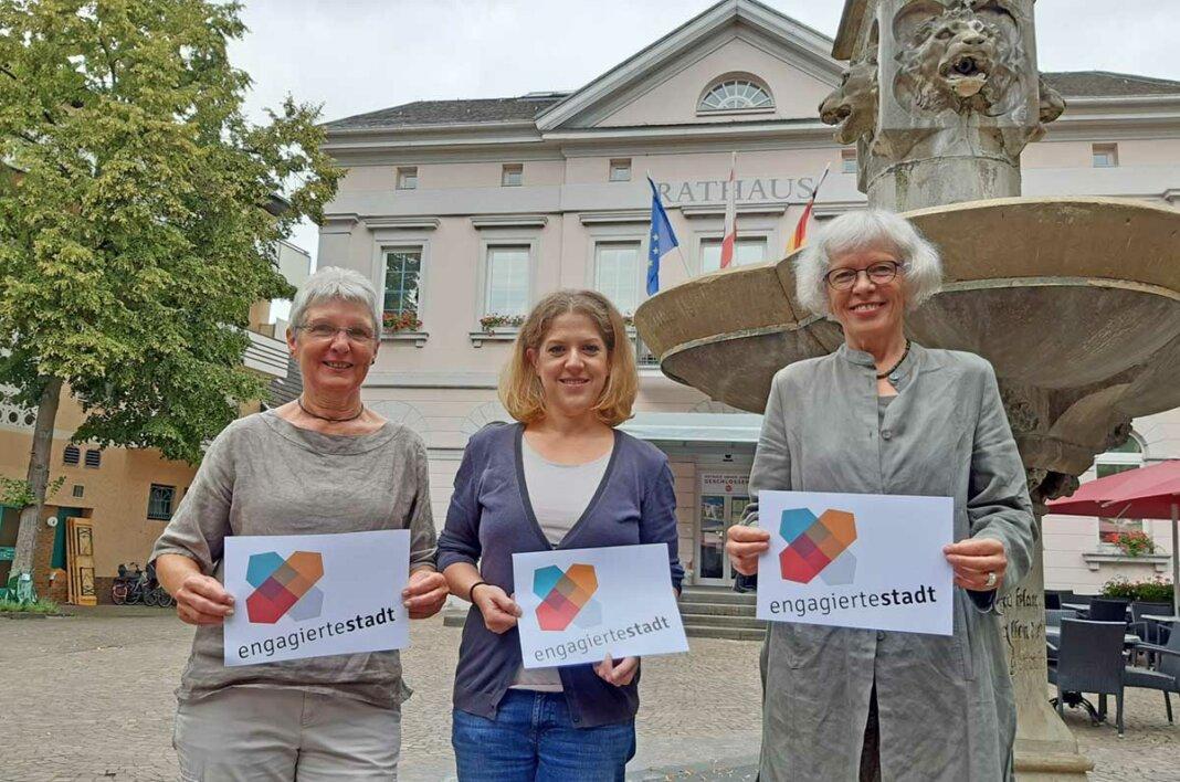 Karin Keelan, Eva Etten und Mechthild Haase