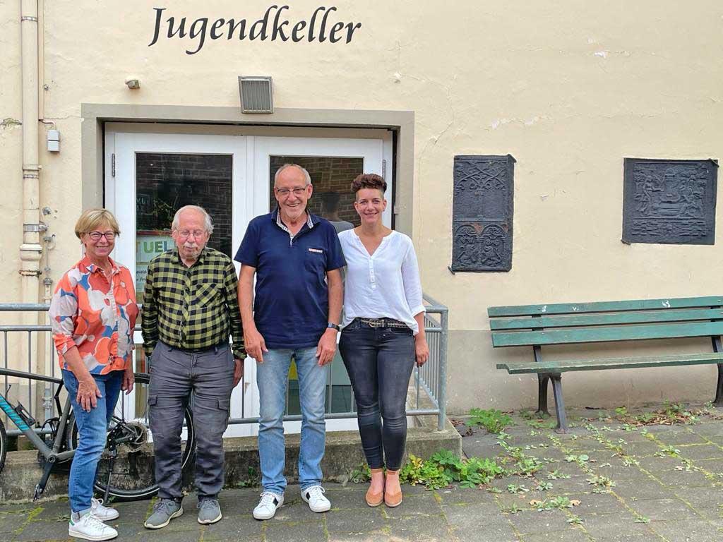 Angela Linden-Berresheim (Geschäftsführerin), Wilfried Rink (Kassierer), Winfried Glaser (stellv. Vorsitzender), Ariane Schäfer (Vorsitzende)