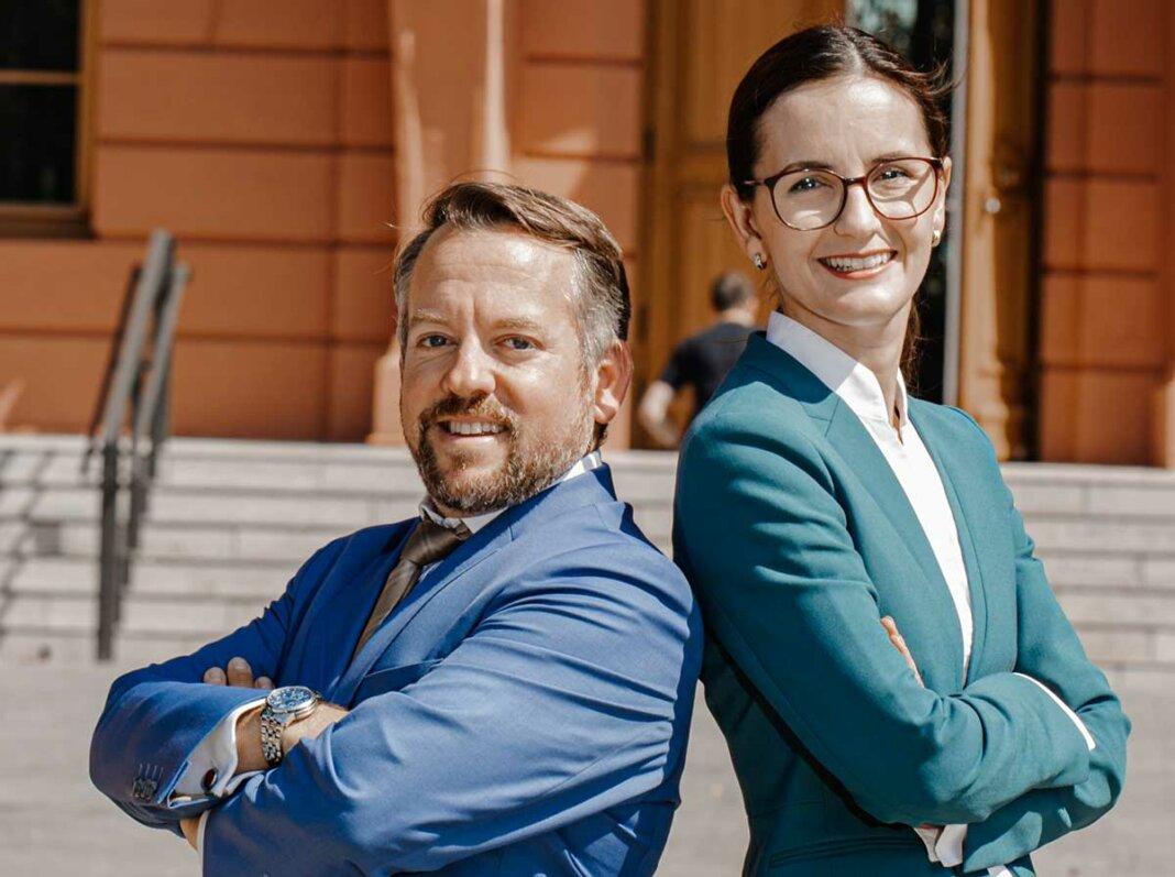 Marianne Altgeld und Stephan Wefelscheid