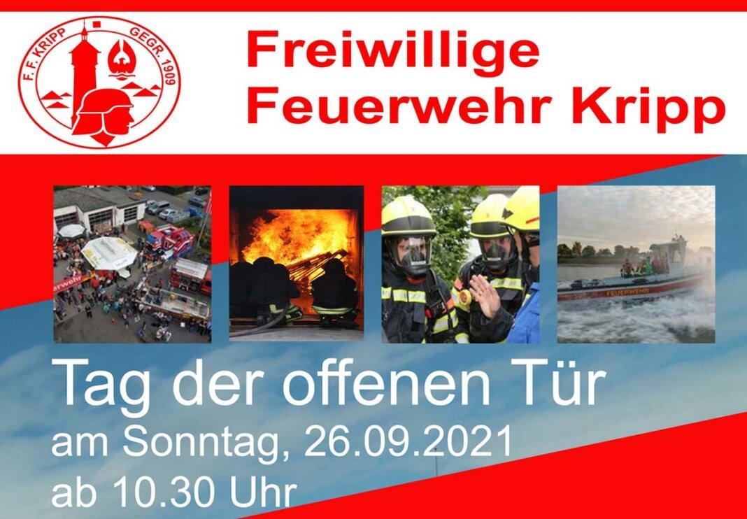 Tag der offenen Tür bei der Freiwilligen Feuerwehr Kripp