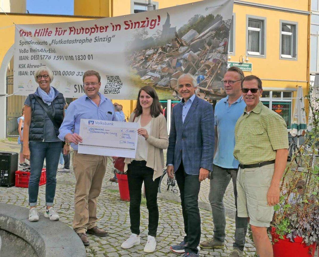 CDU Sinzig: Spende an die Stadt