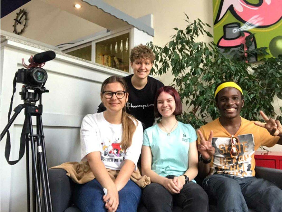 Jugendliche Filmteam